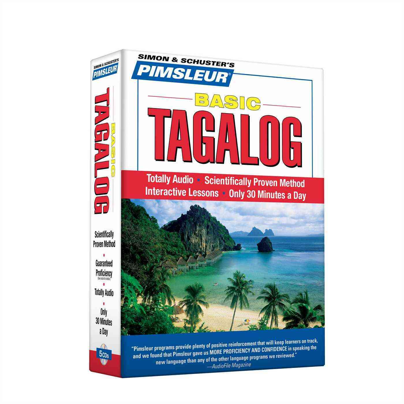 [CD] Basic Tagalog By Pimsleur